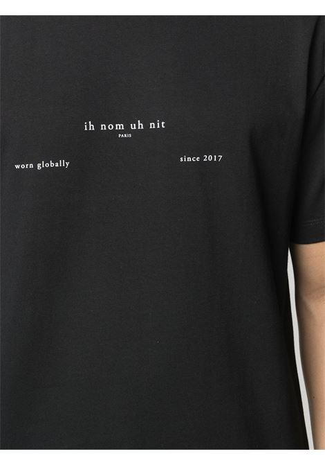 Black t-shirt IH NOM UH NIT | T-SHIRT | NUS21211009