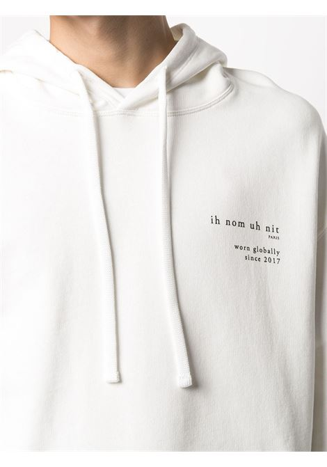 Felpa bianca IH NOM UH NIT | FELPE | NUS21214081