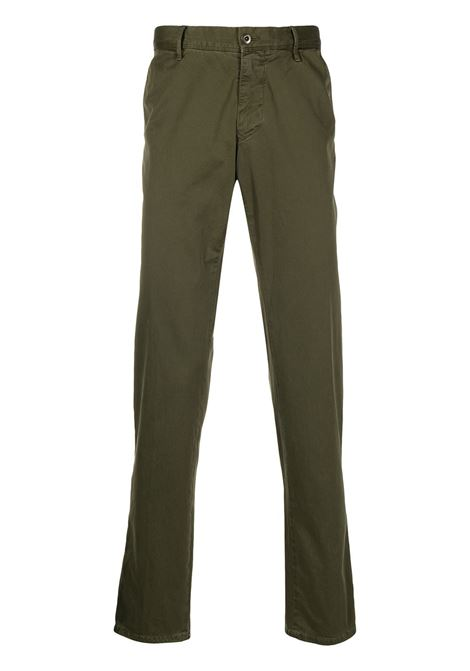 Green trousers INCOTEX | TROUSERS | 14S10090664741