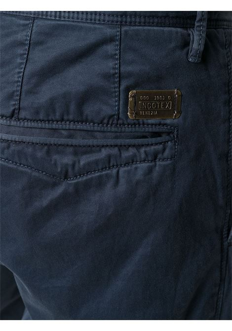 Blue trousers INCOTEX | TROUSERS | 14S10090664829