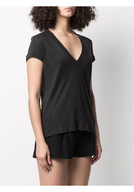 T-shirt nera IRO | T-SHIRT | WM19RODEOBLA01