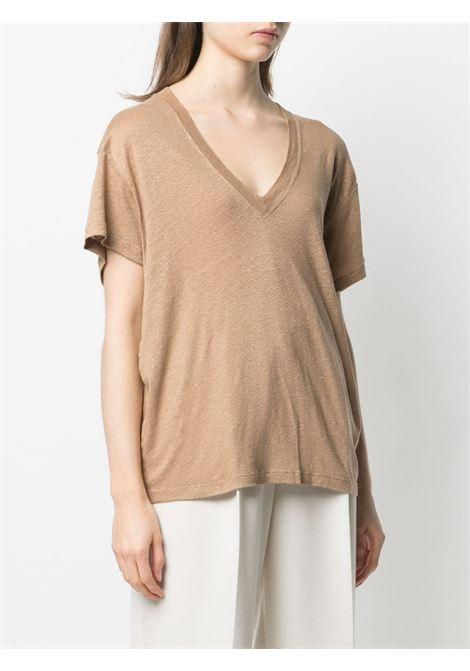T-shirt beige IRO | T-SHIRT | WP19HELOISEBEI32