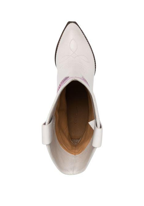 Stivali bianco/ rosa ISABEL MARANT | STIVALI | BO067621E003S40PK