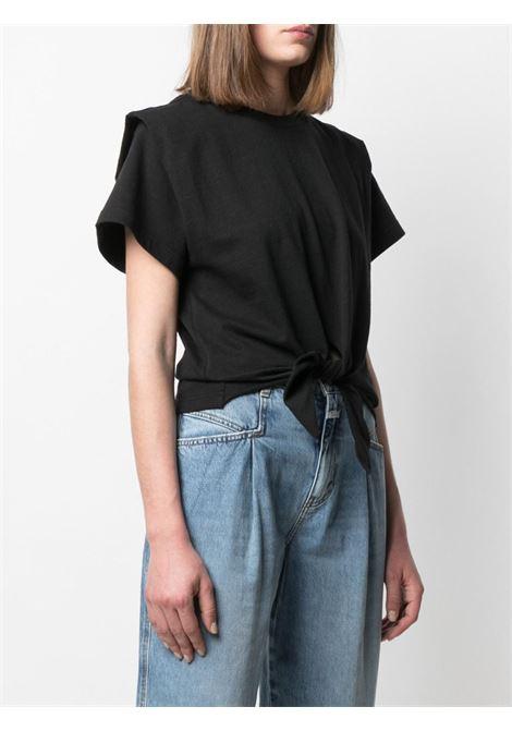 T-shirt nera ISABEL MARANT | TS078021P027I01BK