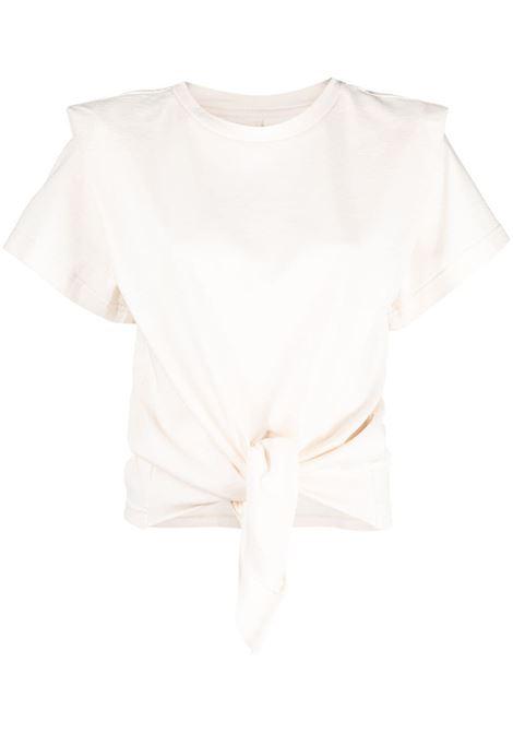 T-shirt ecru ISABEL MARANT | TS078021P027I23EC