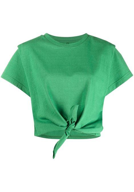 T-shirt verde ISABEL MARANT | TS078021P027I60GR