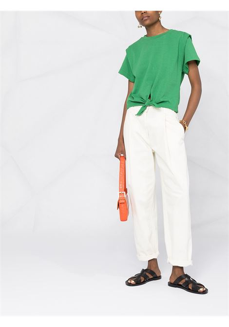 T-shirt verde ISABEL MARANT   T-SHIRT   TS078021P027I60GR