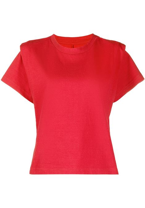 T-shirt rossa ISABEL MARANT | TS078321P027I70RD