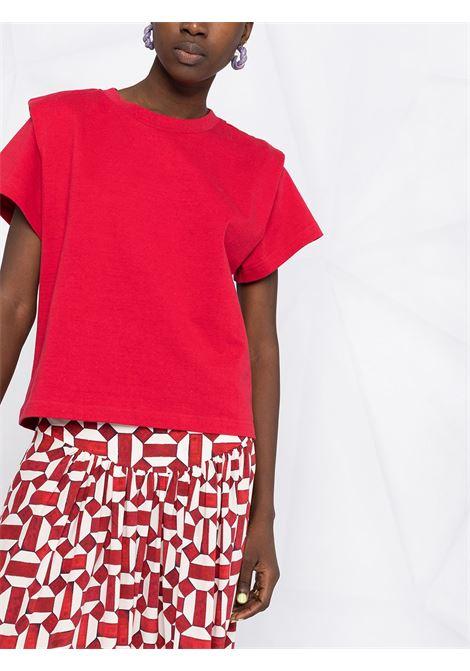 T-shirt rossa ISABEL MARANT   T-SHIRT   TS078321P027I70RD