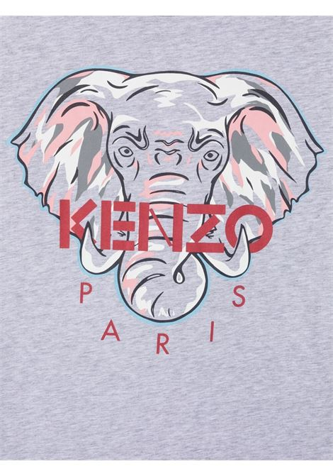 Grey t-shirt KENZO KIDS | T-SHIRT | K15095TA41