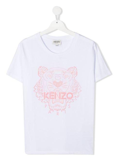 T-shirt bianca KENZO KIDS | T-SHIRT | K15100T103