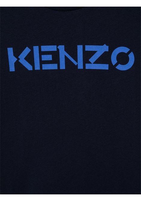 T-shirt blu KENZO KIDS | T-SHIRT | K25111T85T