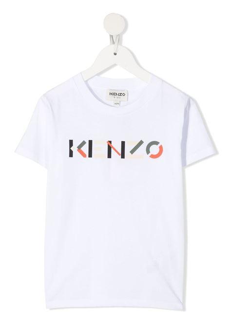 T-shirt bianca KENZO KIDS | T-SHIRT | K25112103