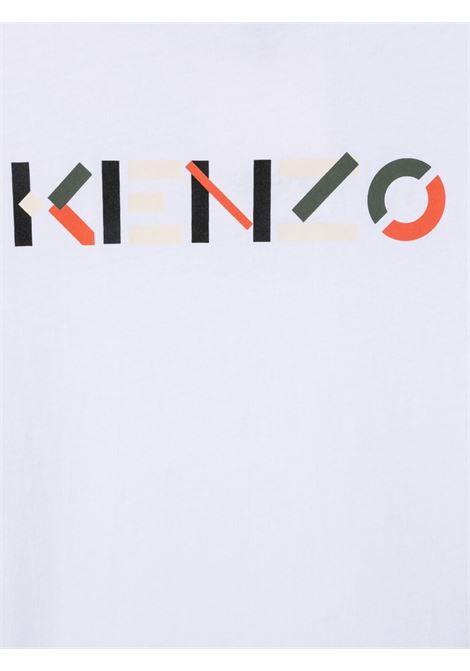 T-shirt bianca KENZO KIDS | T-SHIRT | K25112T103