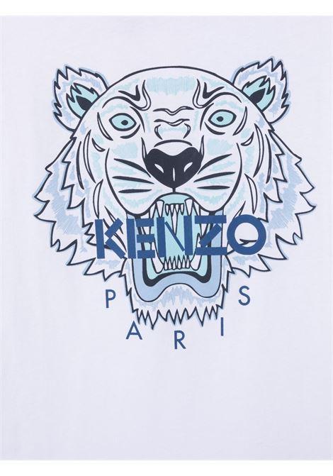 T-shirt bianca KENZO KIDS | T-SHIRT | K25115T103