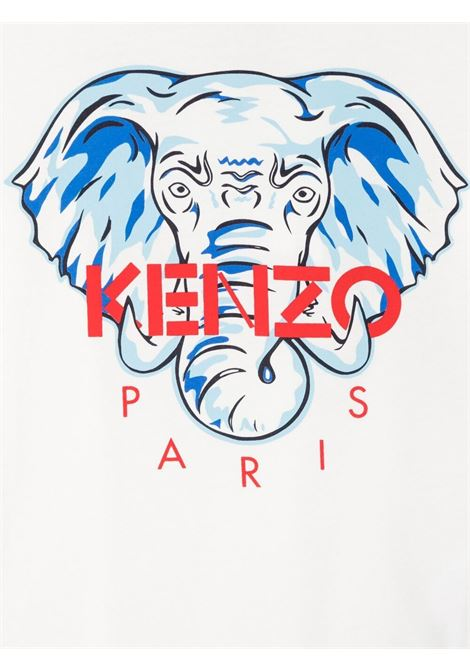 T-shirt bianca KENZO KIDS | T-SHIRT | K2511723F