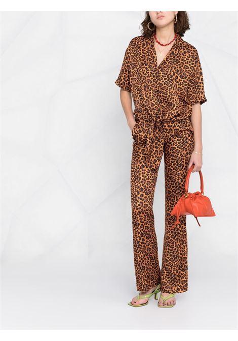 Camicia leopardata LANEUS   CAMICIE   6945VAR1