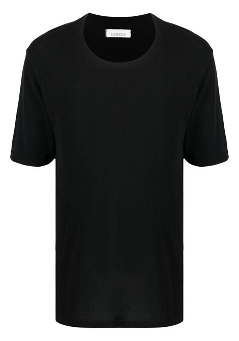 T-shirt nera LANEUS | T-SHIRT | 90777NERO