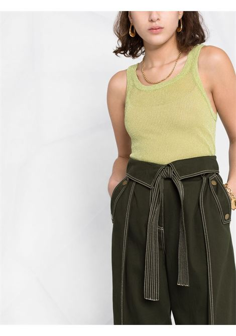 Green tank top LANEUS |  | CND160412870
