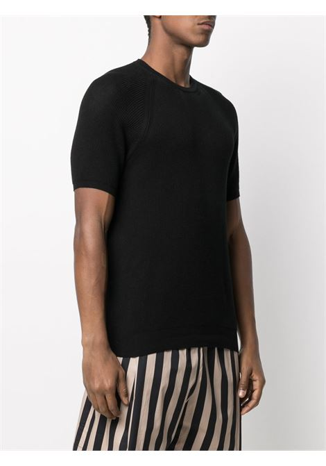 T-shirt nera LANEUS | MAGLIE | MGU1413R1072