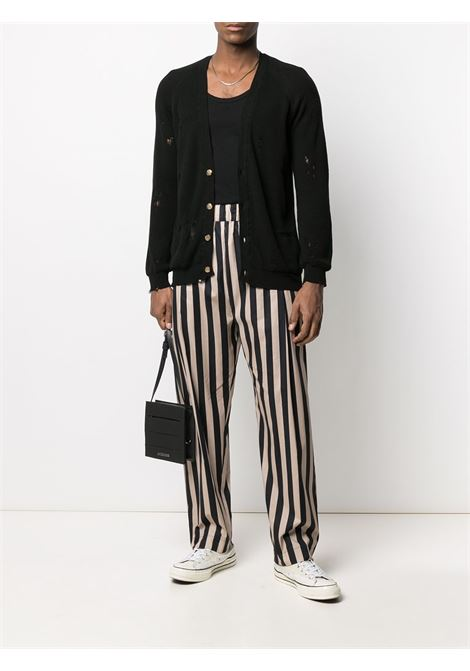Black/white trousers LANEUS | TROUSERS | PNU33VARU