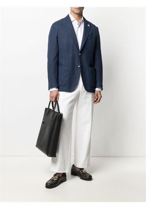 Blue jacket LARDINI |  | EL305AVY97ELR56203849DS