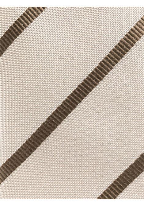 Cravatta beige LARDINI | ELCRC7EL56152100BE