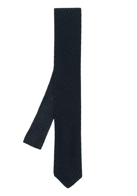 Cravatta blu LARDINI | ELCRTP6EL56166840