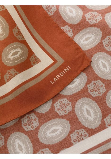 Foulard marrone LARDINI | FOULARD | ELFOU7EL56162620BE