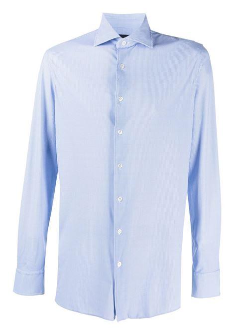 Light blue shirt LARDINI   SHIRTS   ELMOTOKISXELC1365810BC