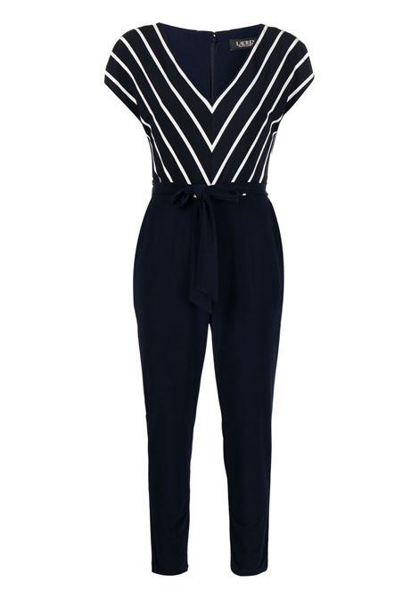 Blue jumpsuit LAUREN RALPH LAUREN | JUMPSUITS | 250830086001