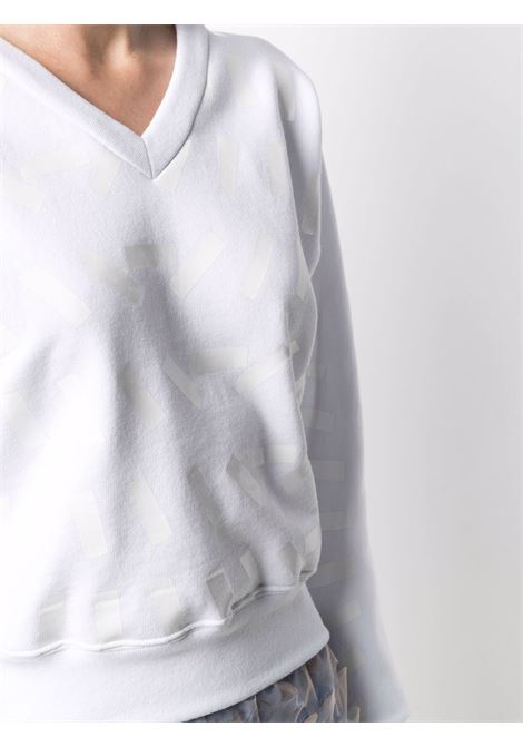 Felpa bianca MAISON MARGIELA | FELPE | S29GU0075S25403100