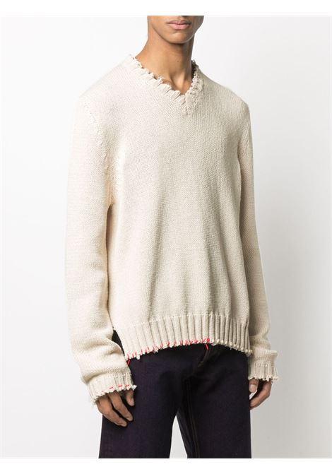 Maglione bianco MAISON MARGIELA | MAGLIONE | S50GP0242S17699102F