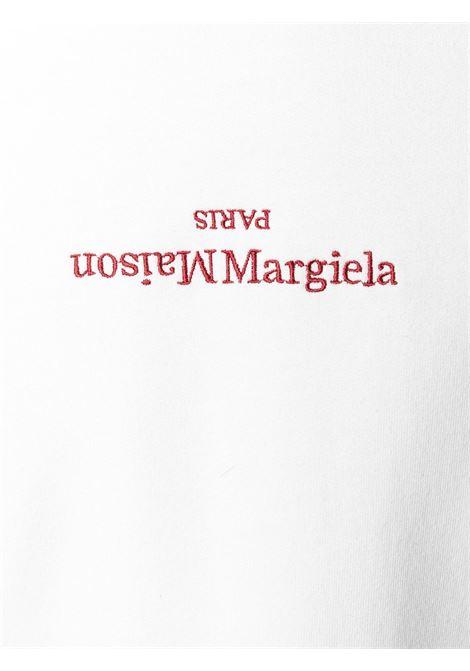 Felpa bianca MAISON MARGIELA | FELPE | S50GU0167S25503101