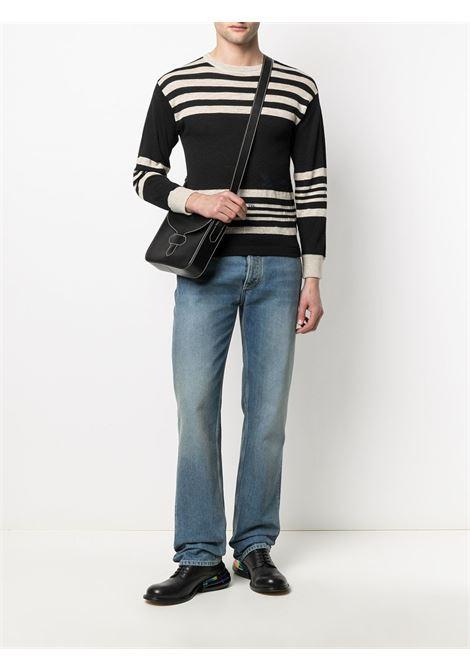 Black/beige pullover MAISON MARGIELA |  | S50HA0996S17682001F