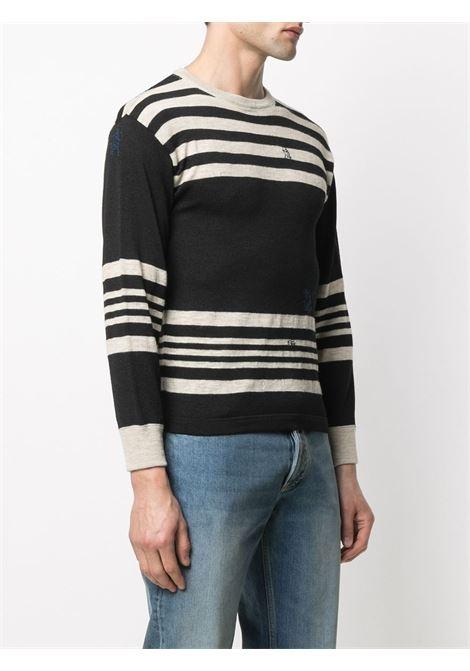 Pullover nero/beige MAISON MARGIELA | PULLOVER | S50HA0996S17682001F