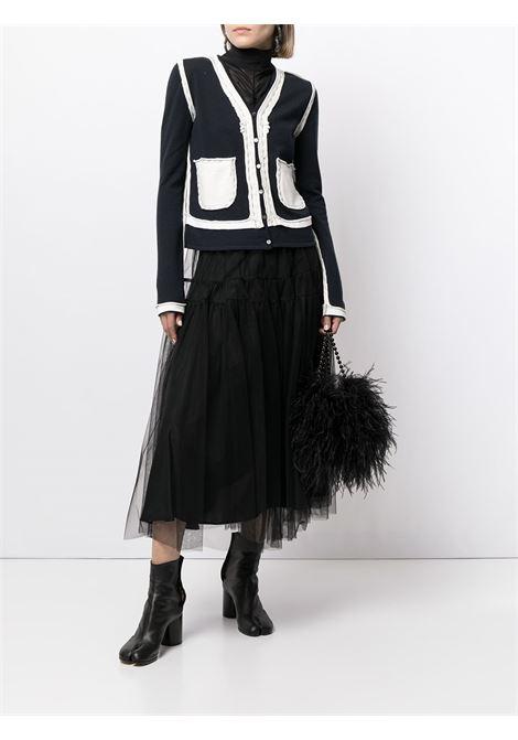 Blue/white cardigan MAISON MARGIELA |  | S51HA1093S17669511F