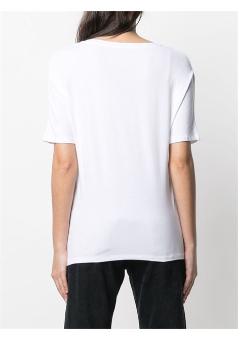 T-shirt bianca MAJESTIC | E21M001FTS572001