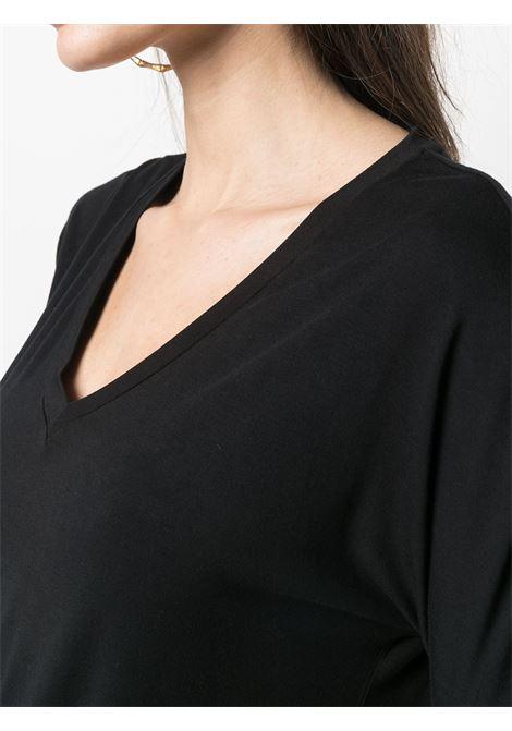 T-shirt nero MAJESTIC | T-SHIRT | E21M001FTS572002