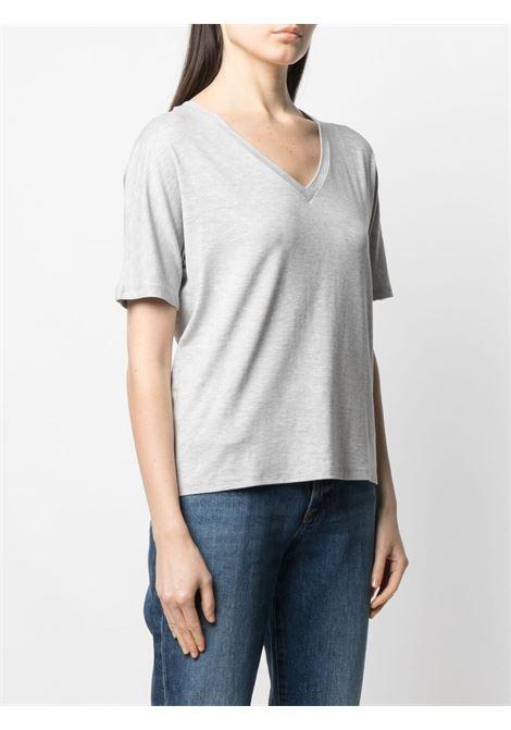 T-shirt grigia MAJESTIC | T-SHIRT | E21M001FTS572004