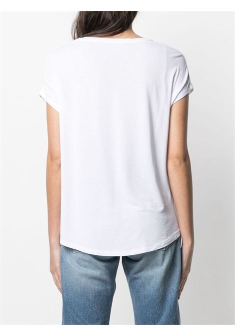 T-shirt bianca MAJESTIC | E21M002FTS159001