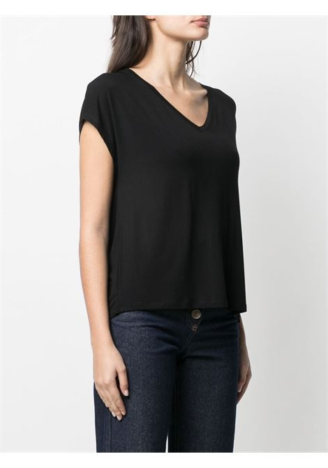 T-shirt nera MAJESTIC | T-SHIRT | E21M002FTS159002