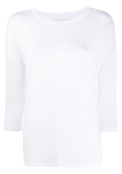 T-shirt bianca MAJESTIC | T-SHIRT | E21M002FTS194001