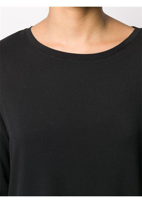 T-shirt nera MAJESTIC | T-SHIRT | E21M002FTS194002