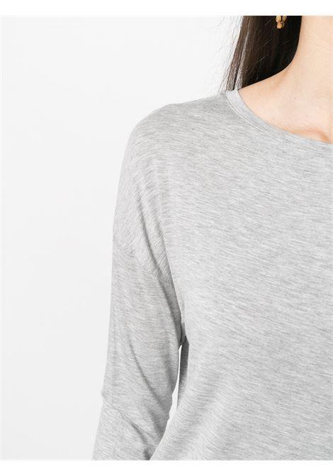 T-shirt grigia MAJESTIC | T-SHIRT | E21M002FTS194004