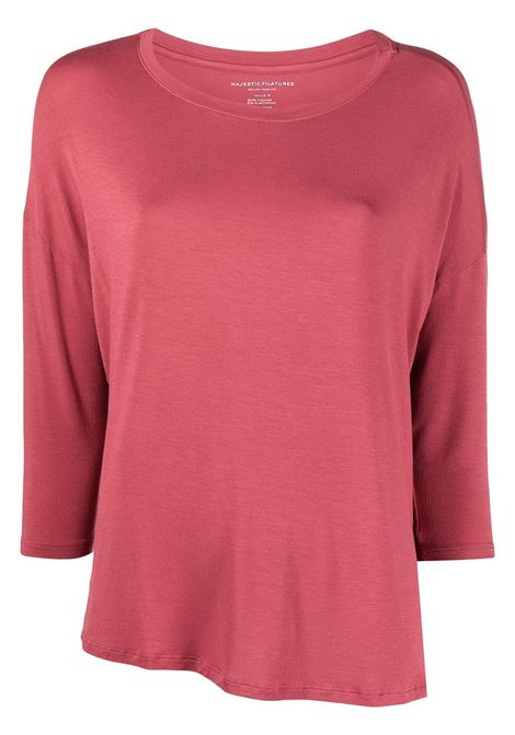 T-shirt rosa MAJESTIC | T-SHIRT | E21M002FTS194450