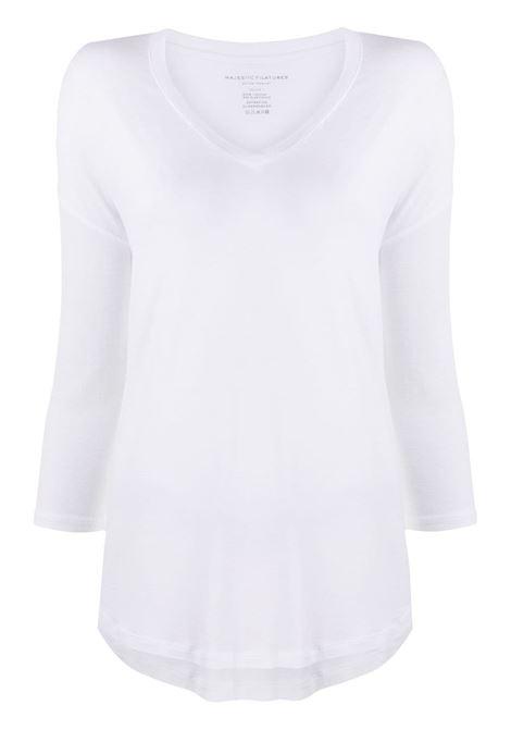 T-shirt  bianca MAJESTIC | E21M002FTS195001