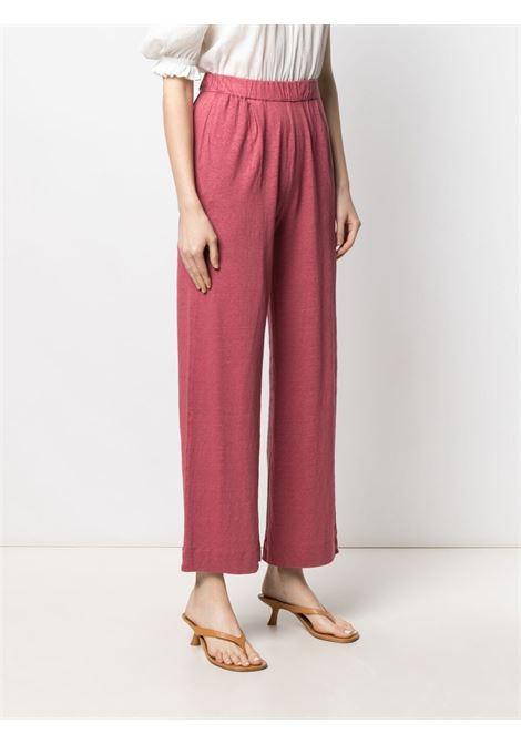 Pantalone color bacca MAJESTIC | PANTALONI | E21M011FPA079450