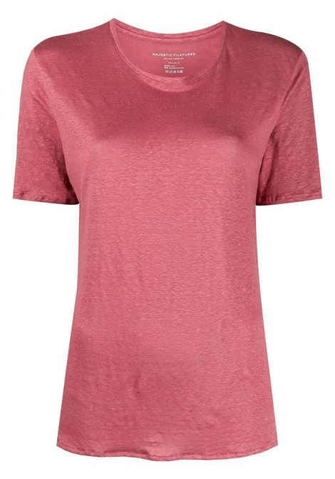 T-shirt rosa MAJESTIC | T-SHIRT | E21M011FTS570450