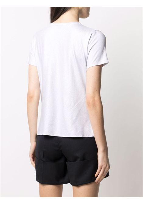 T-shirt bianca MAJESTIC | E21M014FTS391700